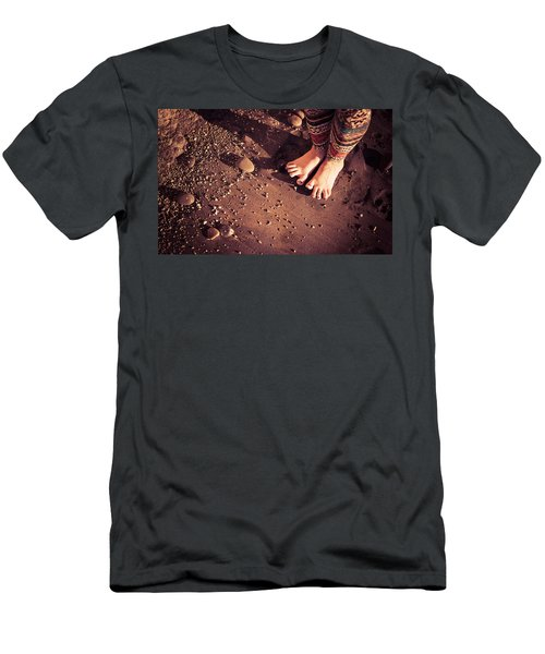 Men's T-Shirt (Athletic Fit) featuring the photograph Yogis Toesies by T Brian Jones
