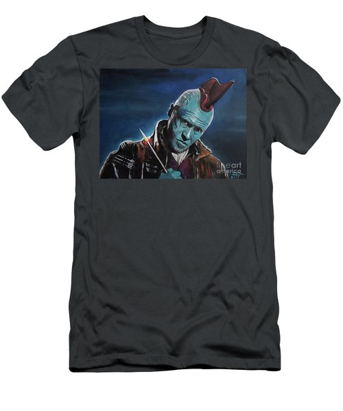 Yondu Men's T-Shirt (Slim Fit) by Tom Carlton
