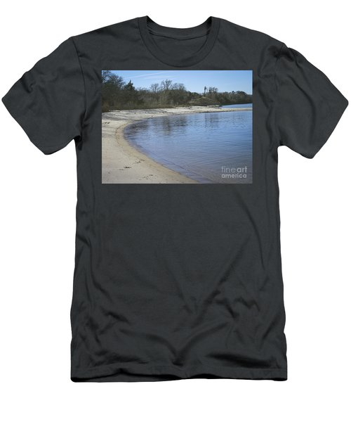 York River Men's T-Shirt (Slim Fit) by Melissa Messick