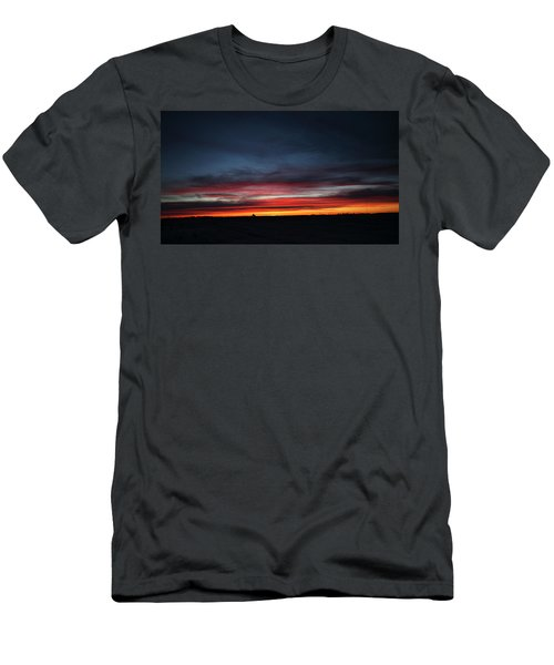 Men's T-Shirt (Slim Fit) featuring the photograph Yorkton Sunrise by Ryan Crouse