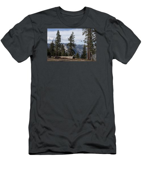 Yosemite Park Men's T-Shirt (Slim Fit) by Ivete Basso Photography