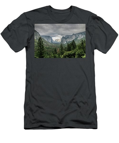 Yosemite View 36 Men's T-Shirt (Athletic Fit)