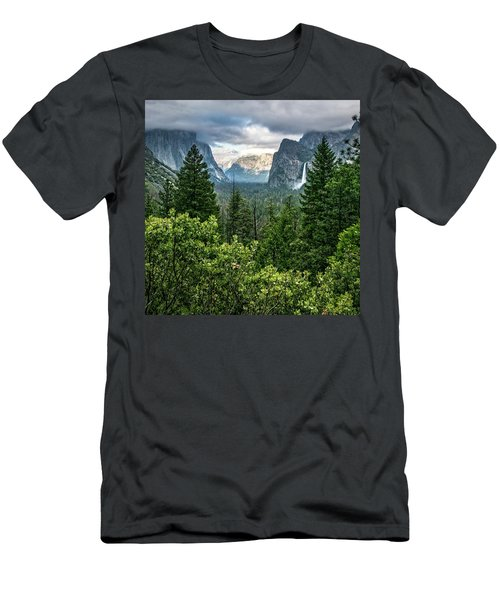 Last Light For Tunnel View Men's T-Shirt (Athletic Fit)