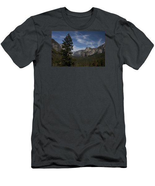 Yosemite View Men's T-Shirt (Slim Fit) by Ivete Basso Photography