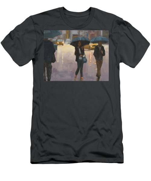 You And I And The Rain Men's T-Shirt (Athletic Fit)
