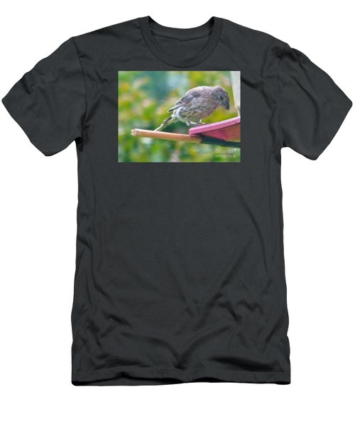 Young Crossbill Female  August  Indiana Men's T-Shirt (Slim Fit) by Rory Cubel