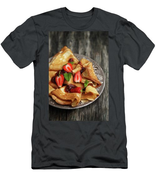 Your Pancakes Are Poetry Men's T-Shirt (Athletic Fit)
