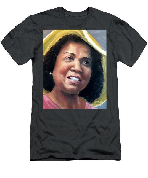 Yvonne Men's T-Shirt (Slim Fit) by Diane Daigle
