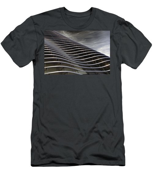 Zahner Facade Men's T-Shirt (Slim Fit) by Christopher McKenzie