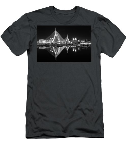 Zakim Bridge From Lovejoy Wharf Men's T-Shirt (Athletic Fit)