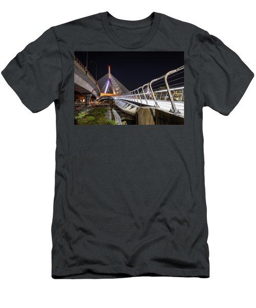 Zakim Bridge Walkway Men's T-Shirt (Athletic Fit)