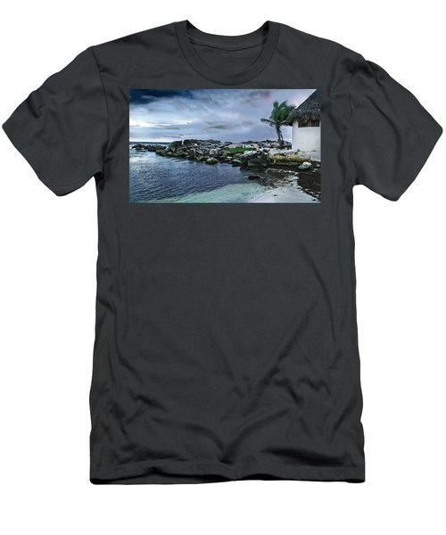 Zamas Beach #8 Men's T-Shirt (Athletic Fit)