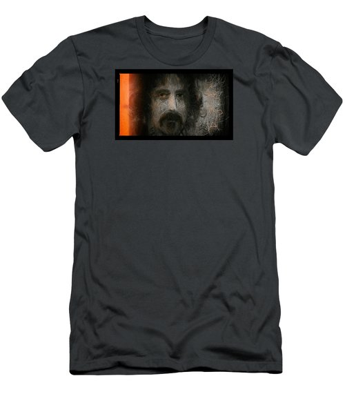 Zappa-the Deathless Horsie Men's T-Shirt (Slim Fit) by Michael Cleere