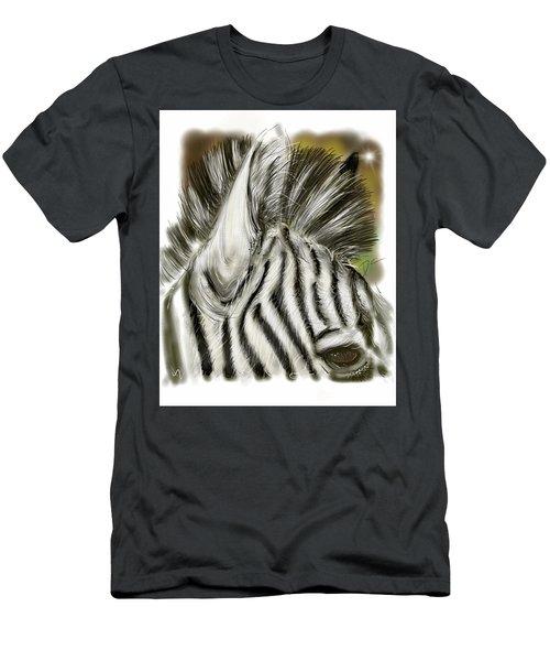 Zebra Digital Men's T-Shirt (Athletic Fit)