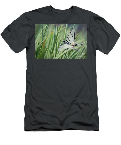 Zebra Swallowtail Men's T-Shirt (Athletic Fit)