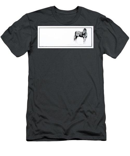 Zebra3 Men's T-Shirt (Athletic Fit)