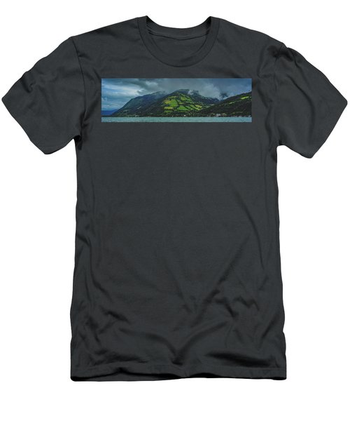 Zell Am See Panorama Men's T-Shirt (Athletic Fit)