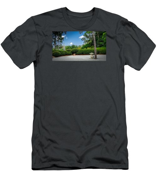 Zen Garden Men's T-Shirt (Slim Fit) by Louis Ferreira