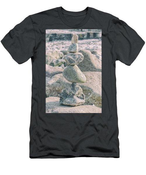 Zen Rocks Men's T-Shirt (Athletic Fit)