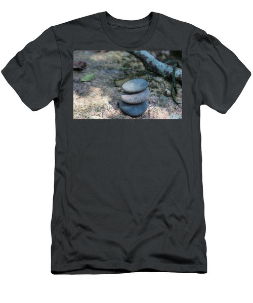 Zen Stones Men's T-Shirt (Athletic Fit)