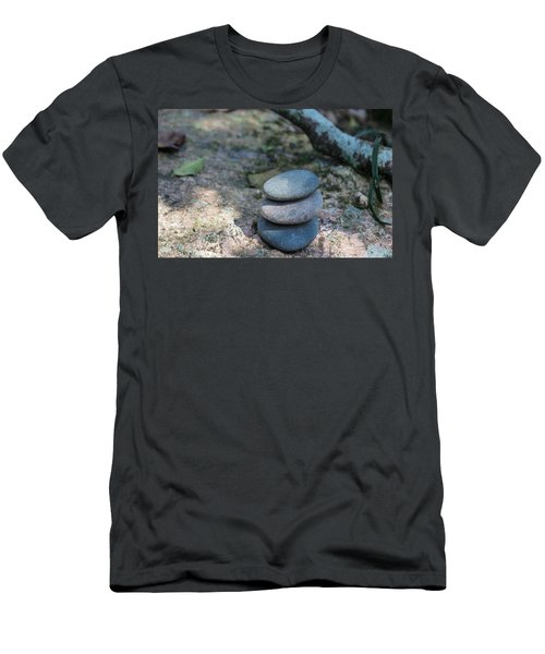 Zen Stones Men's T-Shirt (Athletic Fit)