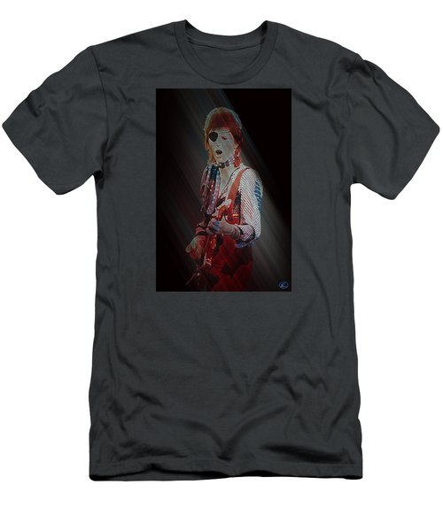 Ziggy Played Guitar Men's T-Shirt (Slim Fit) by Kenneth Armand Johnson