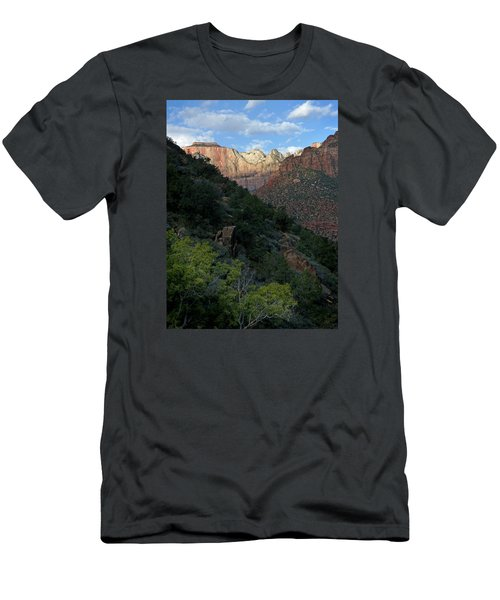 Zion National Park 20 Men's T-Shirt (Slim Fit) by Jeff Brunton