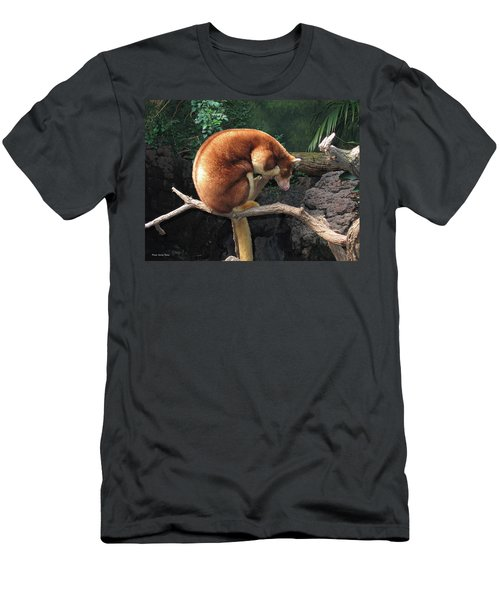 Men's T-Shirt (Slim Fit) featuring the photograph Zoo Animal by Suhas Tavkar