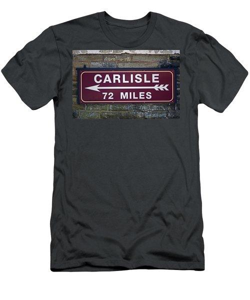 06/06/14 Settle. Period Destination Board. Men's T-Shirt (Athletic Fit)
