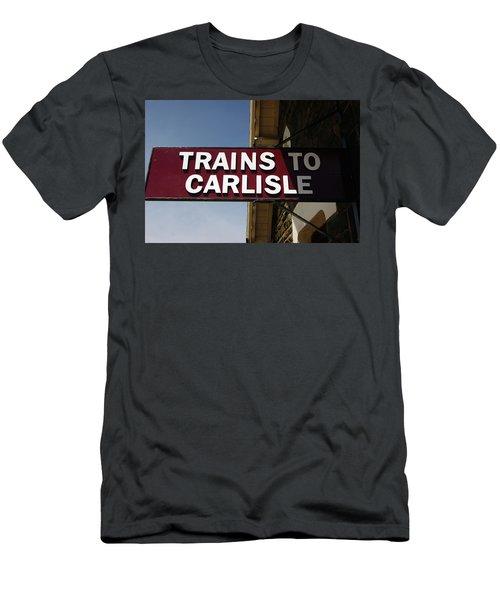 06/06/14 Settle. Station View. Destination Board. Men's T-Shirt (Athletic Fit)