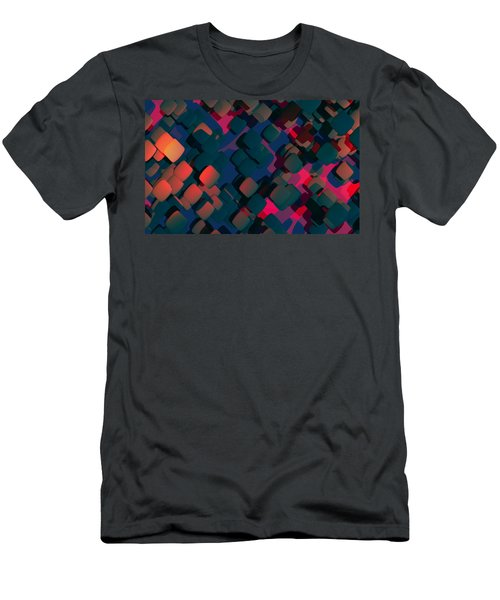 Abstract 3 Men's T-Shirt (Athletic Fit)