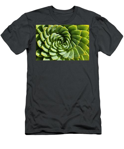 Aloe_polyphylla_8536.psd Men's T-Shirt (Athletic Fit)