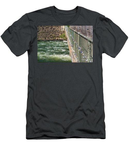 Augusta Canal Headgates - Augusta Ga Men's T-Shirt (Athletic Fit)