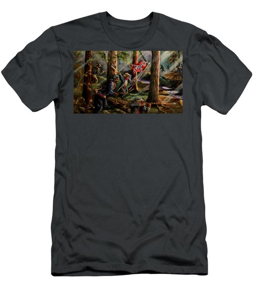 Battle Of Chancellorsville - The Wilderness Men's T-Shirt (Athletic Fit)