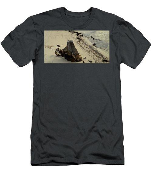Broken Tree Men's T-Shirt (Athletic Fit)