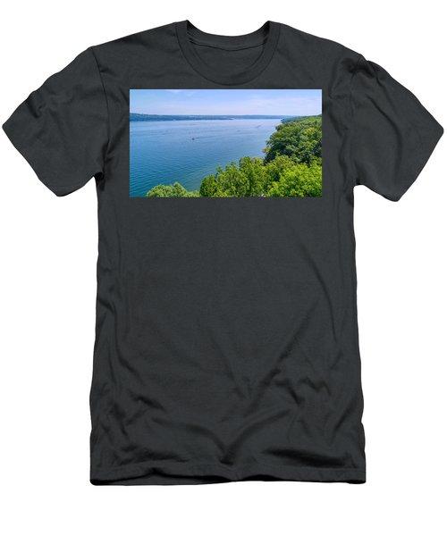 Cayuga Lake Men's T-Shirt (Athletic Fit)