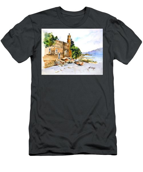 Church Of Primacy, Galilee Men's T-Shirt (Athletic Fit)