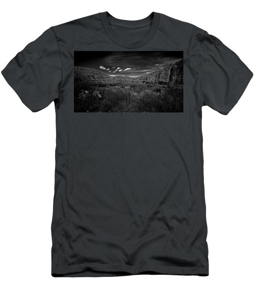 Desert And Sky Men's T-Shirt (Athletic Fit)