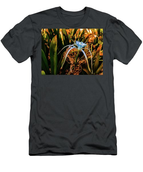 Flower With Tentacles Men's T-Shirt (Athletic Fit)