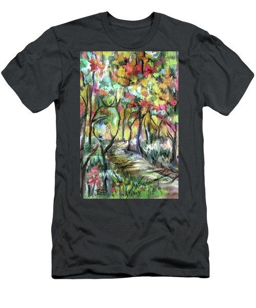 Forest Path Men's T-Shirt (Athletic Fit)