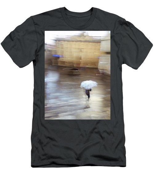 Men's T-Shirt (Athletic Fit) featuring the photograph Gentle Rain by Alex Lapidus