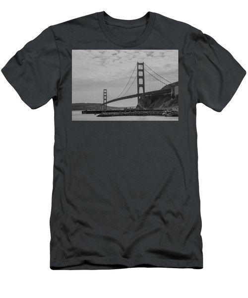 Men's T-Shirt (Athletic Fit) featuring the photograph Golden Gate Bridge by Stuart Manning