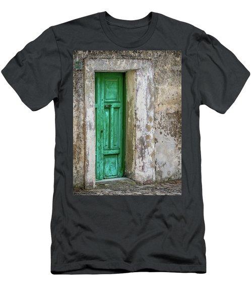 Green Door 2 Men's T-Shirt (Athletic Fit)
