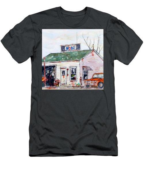 Herb's Mobil Men's T-Shirt (Athletic Fit)
