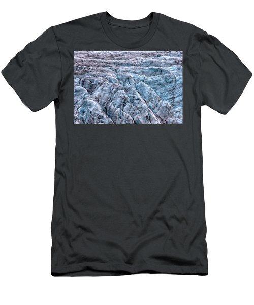 Iceland Glacier  Men's T-Shirt (Athletic Fit)