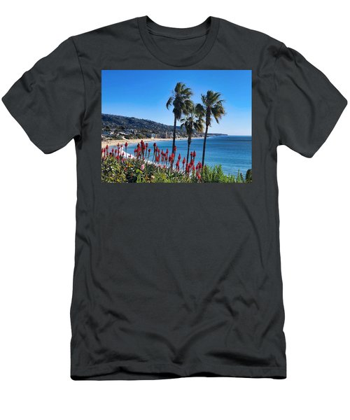 Men's T-Shirt (Athletic Fit) featuring the photograph Laguna Beach by Brian Eberly