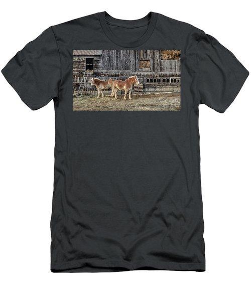 Work Horses Pomfret Vermont Men's T-Shirt (Athletic Fit)