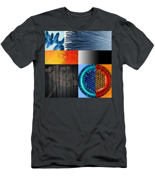 Men's T-Shirt (Athletic Fit) featuring the photograph Nocturne I by Mark Shoolery