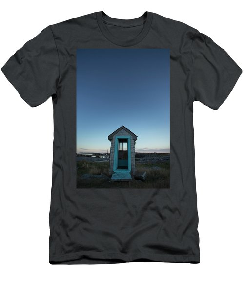 Outhouse, Matinicus Island, Knox Men's T-Shirt (Athletic Fit)