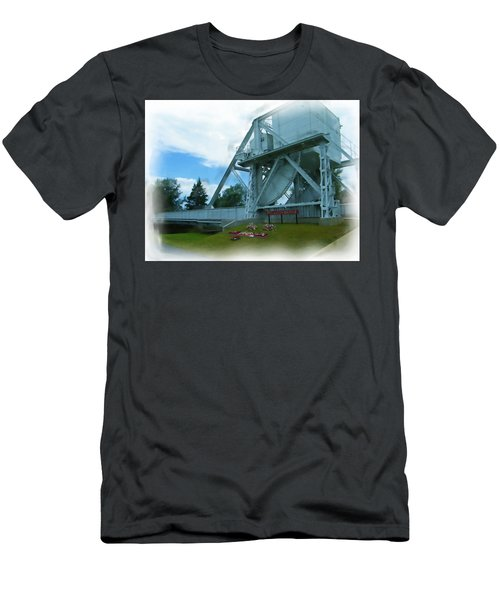 Pegasus Bridge Men's T-Shirt (Athletic Fit)